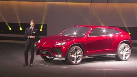 Lamborghini 4 By 4 Lamborghini Urus The Suv Athlete Unveiled At The