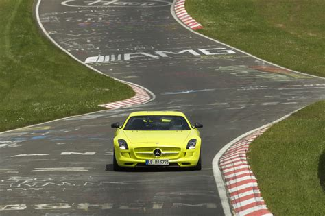 Motorrad N Rburgring by Rekordfahrt Mercedes Sls Amg Electric Drive Umrundet Die