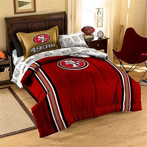 49er comforter nfl san francisco 49ers complete bed ensemble bed bath