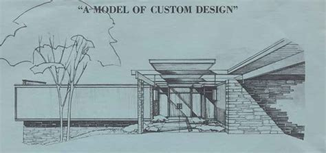 Mid Century Modern House Plans Mid Century Home Floor Plan Architectural Plans Archive