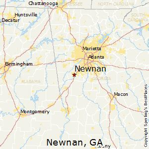 newnan map best places to live in newnan