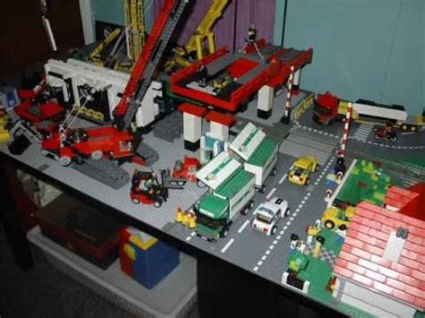 Layout Planner moc lego city construction site youtube