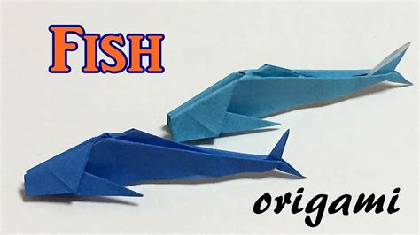 How To Make An Origami Fish Out Of Money - origami fish tutorial step by step how to make a paper
