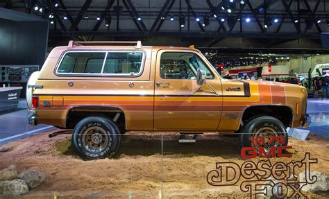 gmc of the desert gmc shows desert fox as it celebrates its 40 years in