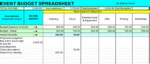 event budget spreadsheet template event budget spreadsheet