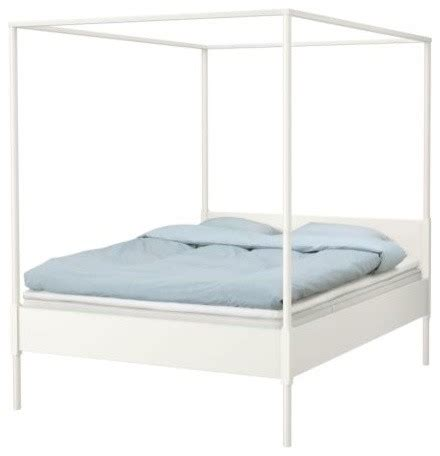 Scandinavian Bed Frame Edland Four Poster Bed Frame Scandinavian Four Poster Beds By Ikea