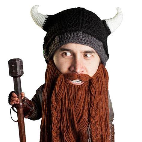 knit hat with beard viking knit beard hat beard beard 174