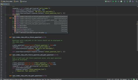 pycharm testing your python code with pycharm pycharm python ide for professional developers by jetbrains