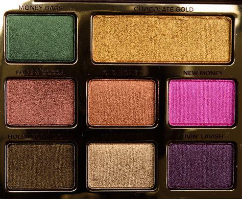 Faced Chocolate sneak peek faced chocolate gold eyeshadow palette