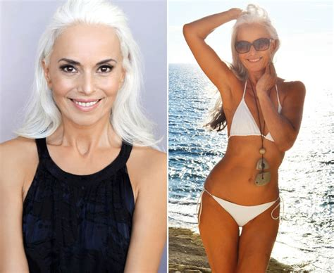 what does a older mature vigna look like model yazemeenah rossi 60 reveals one biggest beauty