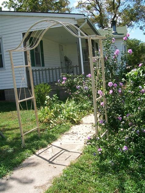 Metal Garden Arch Trellis Wrought Iron Arbor Garden Arch