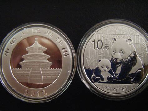 10 troy ounces of silver weight 1oz troy ounce panda 2012 silver coin marketplace