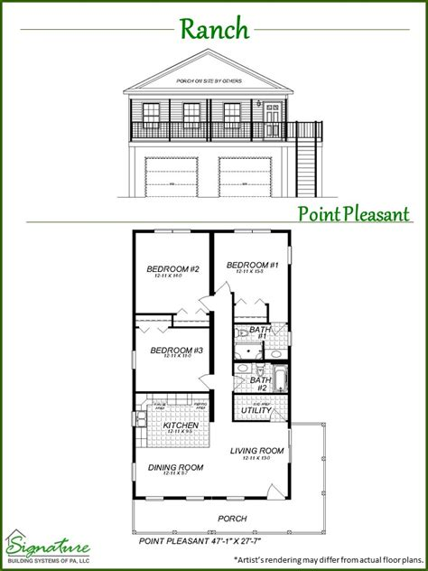 raised ranch signature building systems custom modular ranch signature building systems custom modular home