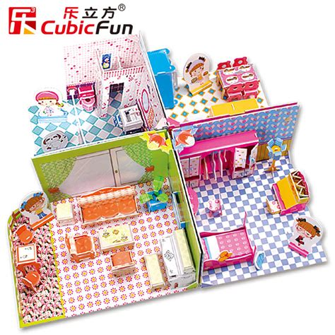 3d Puzzle Honey Room cubicfun 3d puzzle honey room livingroom kichen bedroom