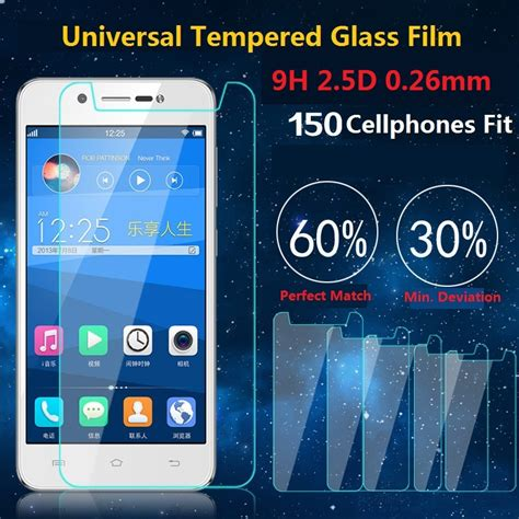 Tempered Glass Smile Universal 4 っuniversal 9h tempered 169 glass glass screen protector shatter proof protective for for lg