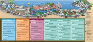 Downtown Disney Florida Map by Downtown Disney Map Wdwinfo Com
