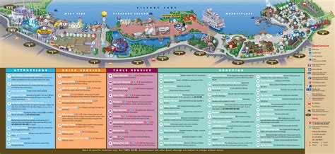 map of downtown disney boardwalk vs downtown disney waltdisneyworld