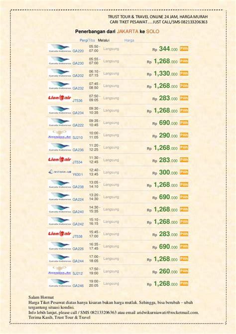 Cardrider Harga Murah T1910 5 penerbangan secara langsung atau direct dari jakarta dengan harga mur