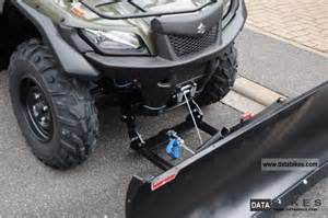 Snow Plow For Suzuki Atv 2011 Suzuki Lta 750l1 Kingquad Including Snow Plow Winch