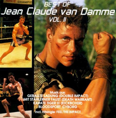 film perang van damme music from the films of jean claude van damme vol 2