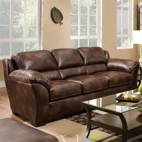 bonded leather sleeper sofa acme furniture dax bonded leather sleeper sofa with
