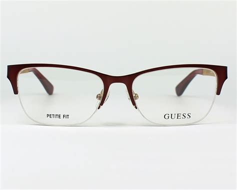 Guess Where This Is From 16 by Guess Brille Gu 2627 070 Bordeaux Visionet