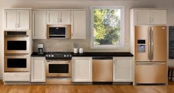 bronze colored appliances whirlpool sunset bronze the new stainless steel