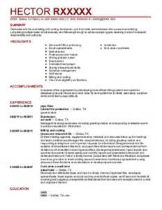 auditor inventory specialist pharmacy supervisor resume
