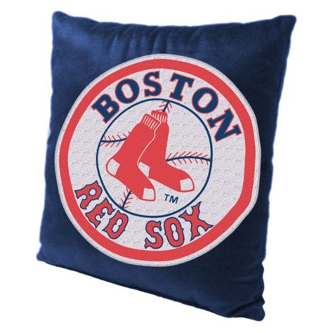 Boston Sox Pillow by Boston Sox Mlb 16 Quot Embroidered Plush Pillow With Applique