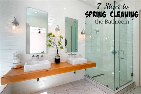 spring cleaning bathroom 7 steps to spring cleaning the bathroom saving cent by cent