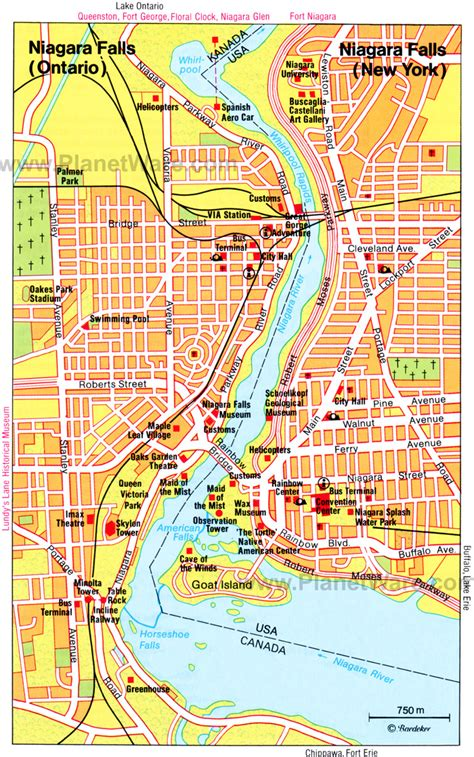 map of hotels in niagara falls canada 10 top tourist attractions things to do in niagara falls