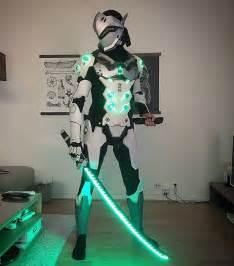 glowing overwatch genji cosplay 171 adafruit industries makers hackers artists designers