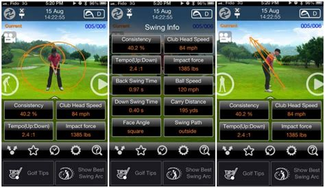 golf swing speed app android global tv tech buzz the best golf apps and gadgets