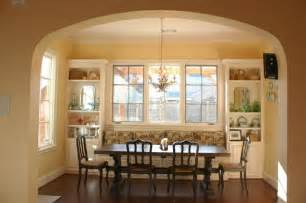 Chandelier Mini Shades Smart Built In Banquette Seating For Cozy Dining Area