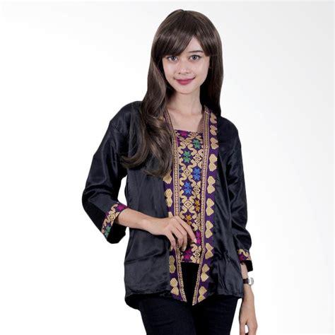 Batik Pkl Ayu Putri Busui 3 jual batik putri ayu b32 blouse batik semi prada hitam harga kualitas