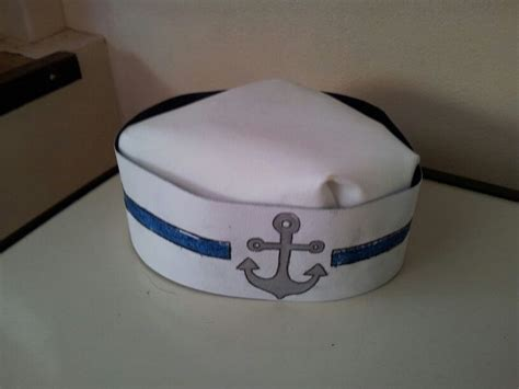 Make A Paper Sailor Hat - sailor hat colegio disfraces