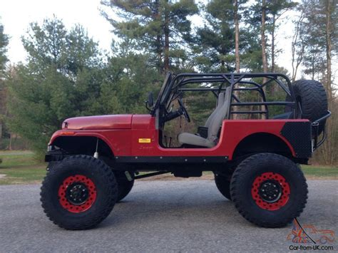 Who Builds Jeep 1976 Jeep Cj Custom Build Crawler Rock 4x4