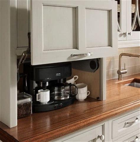 kitchen appliance storage ideas 40 appliance storage ideas for smaller kitchens