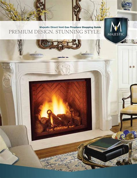 majestic fireplace service issuu majestic direct vent gas fireplaces by meek lumber company