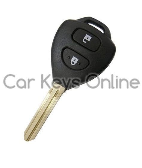 Toyota Hilux Key Programming Car 2 Button Remote Key For Toyota Rav4