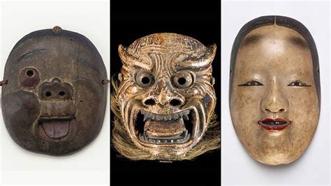 Lifestyle Network Home Design by These Expressive Masks Are The Emojis Of Ancient Japan