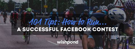 How To Do Sweepstakes On Facebook - 101 tips how to run a successful facebook contest