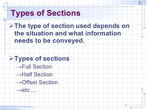 kinds of sectioning chapter 3 sectioning