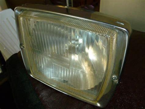 purchase vintage mercedes chrome bosch square fog light