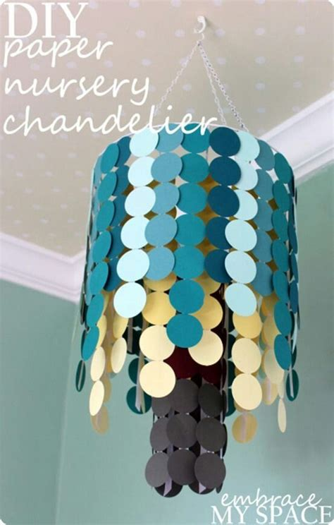 How To Make A Chandelier Out Of Paper - 25 creative diy chandeliers made out of paper