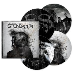 stone sour house of gold bones part 1 stone sour house of gold and bones part 1 picture disc vinyl musictoday superstore