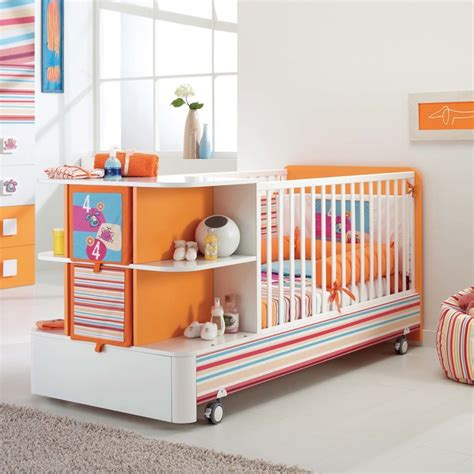 Modern Cribs With Storage Samba Contemporary Wooden Baby Cot With Storage By Pali