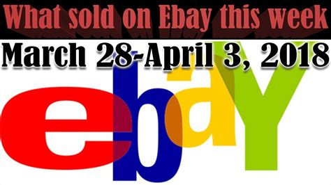 Ebay Find Of The Week Fabsugar Want Need 13 by What Sold On Ebay This Week March 28 April 3 2018