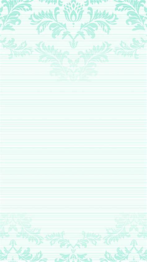 pastel mint green ombre damask iphone phone lock screen wallpaper background flower