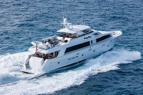boat brokers new york state used hatteras 100 100 motor yacht for sale in new york